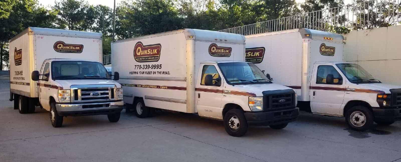 QuikSlik trucks and locations