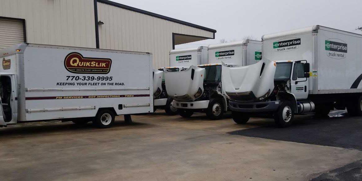 QuikSlik Mobile Fleet Service On site Service